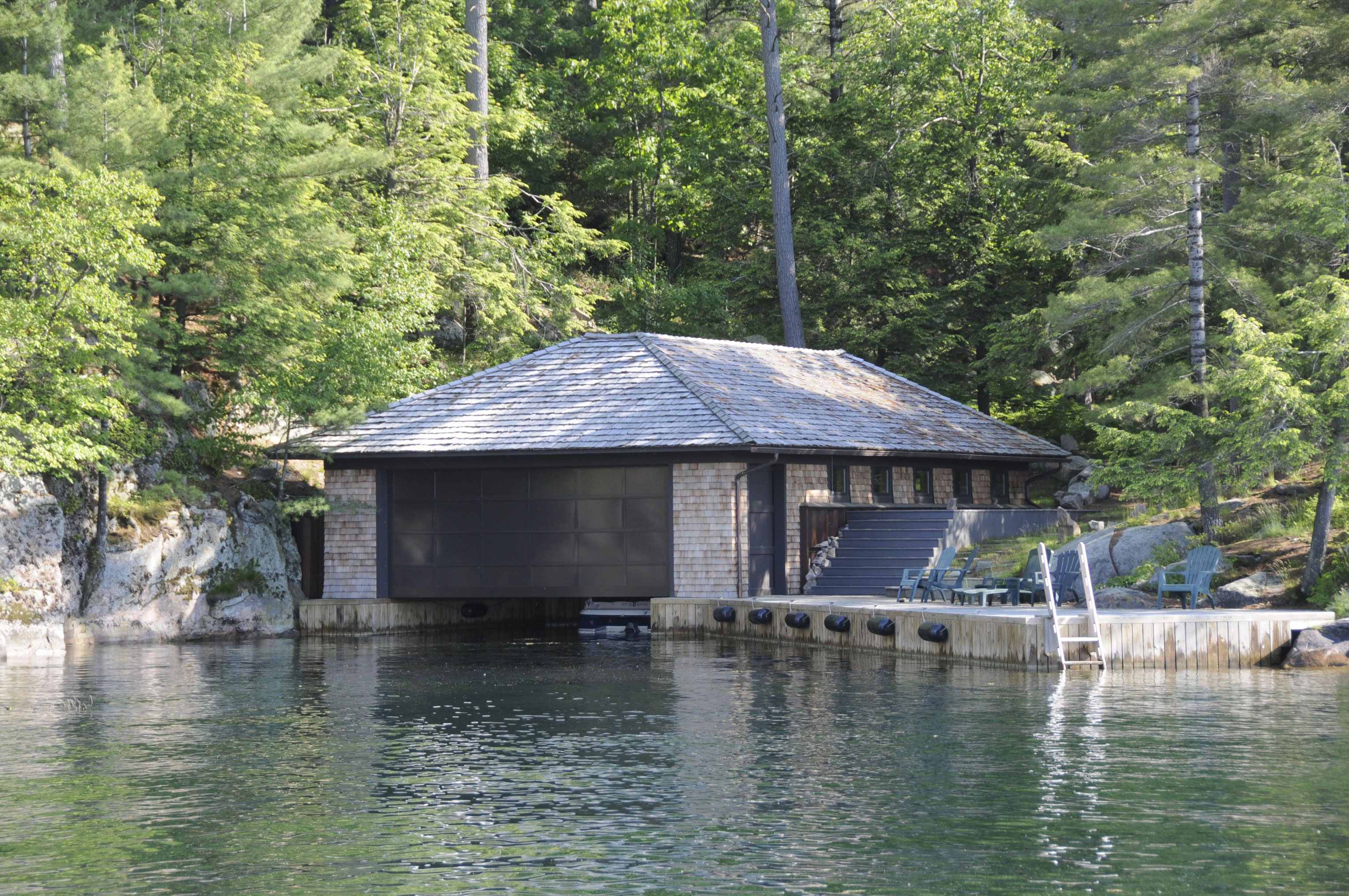 About boat house 28 images muskoka boathouse ireland for Residential architects rochester ny